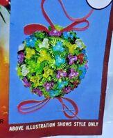 Walco TRI-BEAD DELIGHT Vintage 1977 Sequin Bead Christmas Ornament Kit NOS