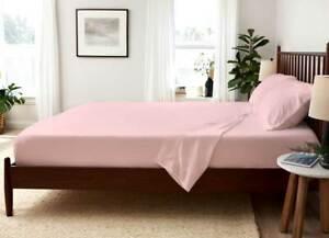 SHEEX Arctic Aire MAX Cooling 4 Piece Sheet Set Cal-King Pink $220