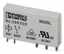 SPDT Phoenix Contact 2961105 Relais 6A Sockel Halterung 24VDC