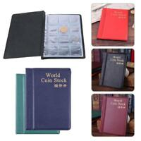 Collection Storage Money  Album Book Collecting 120 Coin Holders SELL