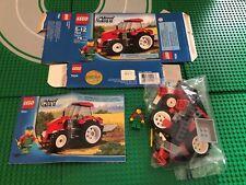 LEGO- CITY- FARM- TRACTOR- 7634- USED- 100% COMPLETE W/ OPEN BOX