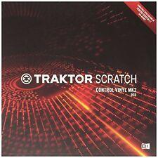 Red Traktor Scratch Control Vinyl Mk2 W/ Timecode Control for Scratch Perfection