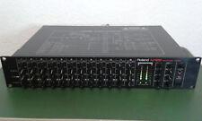 "Roland M-12 E Rackmixer 12 Kanal Mischpult 2 HE 19"" NP: 700,-€ TOP s. Bilder !"