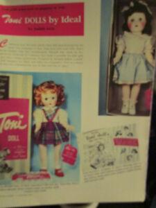 5pg Ideal Toni Doll History Article / Izen
