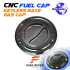 FRW Black CNC Fuel Cap For Yamaha YZF R1 98-13 99 00 01 02 03 04 05 06 07 08 09