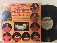 Charles Hayes Everytime I Feel Spirit VG+ 2LP SAVOY Black Gospel funk soul disco