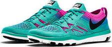 NIKE FREE TR FOCUS FLYKNIT WOMEN TRAINING RUN SHOES JADE 6 NEW 844817-300
