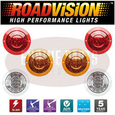FLUSH MOUNT LED TAIL LIGHT SET FORD FALCON AU BA BF FG TRAY BACK 1 TONNER UTE