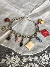 Avon 125 Years Makeup Fashion Charm Bracelet Jewelry Yk-37