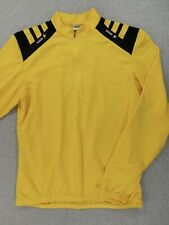 Sugoi Core Tech 1/2 Zip Long Sleeve Cycling Jersey (Mens XL) Yellow