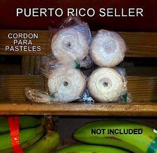 Papel Hilo Pasteles Puerto Rico Banana Christmas Holiday Spanish Food Recipe  4R