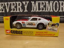 corgi whizzwheels 396 datsun 240z with window box