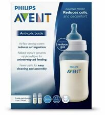 New listing Philips Avent Anti-Colic Baby Bottles 11oz, 2pk, Scf406/24