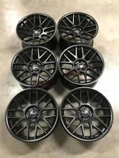 "19"" Strom STR2 RC Wheels Satin Black BMW F10 F11 F12 F13 5 6 Series BBS RC Style"