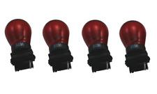 4x 3156 Red Bright S8 Light Bulb Car Auto Signal Turn Back Up Miniature Lamp 12v