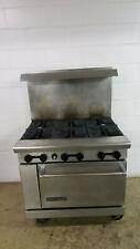 American Range 6 Burner Standard Oven Nat Gas Tested