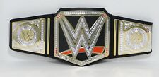 WWE World Championship Replica Belt Toy 2012 Mattel Hook and Loop Y7011 EUC