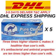 5 Boxes (100 sachets x25g) Pure Camel Milk Powder Camel Abu Dhabi HALAL EXPRESS