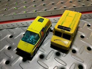 1978 Hotwheels/Maisto Vans Junk Yard Lot 2