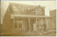 New listing T.R. Forbes & Co. Cash Store ~ RUGBY, N.D. ~ Pierce County, North Dakota ~ RPPC