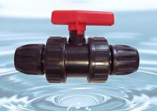 25mm Válvula de bola PN 10 pe-epdm-anschluß - de calidad superior - NUEVO #651