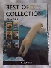 Best of National Geographic Collection Volume 5 (DVD, 8-Disc Set) Brand New