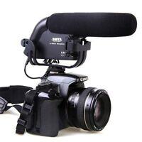BOYA BY-VM190 Stereo Video Shotgun Microphone for 5D II 6D DSLR Camera Camcorder
