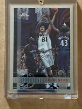 Tim Duncan RC Rookie Card Topps Chrome 97-98 #115 1997-1998