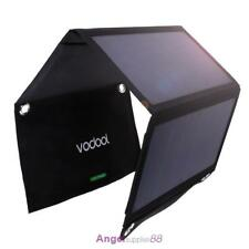 21W Solar Panel Folding Portable Power Charger USB Camping Travel Phone Charger