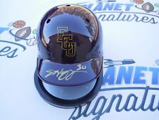 Jeff Hoffman signed East Carolina ECU Pirates baseball helmet Colorado Rockies