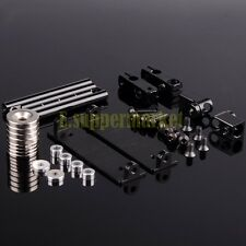 RC 1/10 On-Road Dift Car Shell Strong Magnet Stealth Body Post DIY BLACK 188837