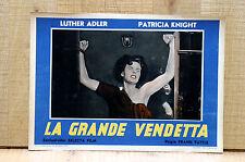 LA GRANDE VENDETTA fotobusta poster Adler Patricia Knight The Magic Face H28