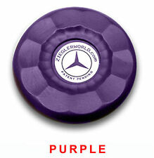 4 LARGE REPLACEMENT AMERICAN SHUFFLEBOARD PUCK CAP TOPS - PURPLE COLOR