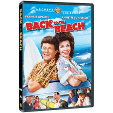 Back to the Beach 1987 DVD Frankie Avalon Annette Funicello (MOD)