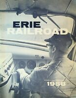 Erie Railroad Annual Report 1958 Trains RR