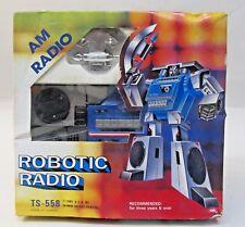 1984 AM ROBOTIC RADIO pre Transformers Radio by Tai Fong with box