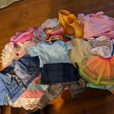 American Girl unbranded. Lot - Clothes shoes  & All Other 18""
