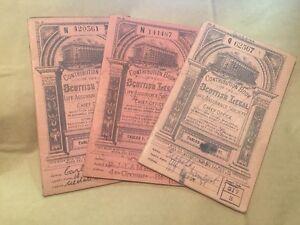 FROM 1909 ONWARDS VINTAGE SCOTTISH LERGAL LIFE ASSURANCE BOOKS