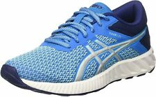 Asics fuzex Lyte 2 calzado para correr para mujer (Azul) (UK 10) RRP £ 79
