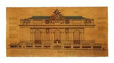 Grand Central Station, Facade  by Roger Vilar - Vintage NYC architecture