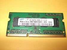 SAMSUNG LAPTOP MEMORY DDR3 1GB PC3-8500 CODE M471B2873EH1-CF8