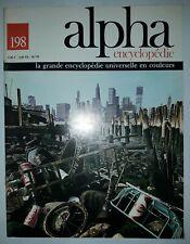 Encyclopédie Alpha - N°198 - La grande encyclopédie universelle en couleurs