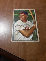 1952 Bowman Baseball  Larry Doby Indians Card #115