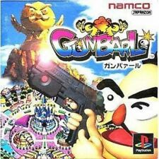 Used PS ONE Namco Gunbarl  PS1 SONY PLAYSTATION JAPAN IMPORT