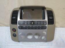 ✅ 05 06 Nissan Pathfinder Instrument Panel GPS Radio Climate OEM 28395-EA000