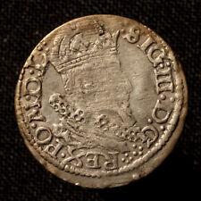 Polen, Sigismund III, Groschen 1625 für Litauen, Vilnius, R!