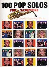 Partitions musicales et livres de chansons contemporains pour Pop et un Saxophone