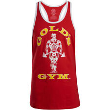 Gold's Gym Muscle Joe Stringer Tank Top - Red