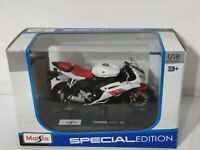 Maisto - YAMAHA YZF-R6 (White + Red) - Motorbike Model Scale 1:18