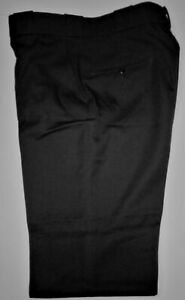 NWT Horace Small Heritage Men's Uniform Pants 37R Unhemmed Wool Blend Style 226